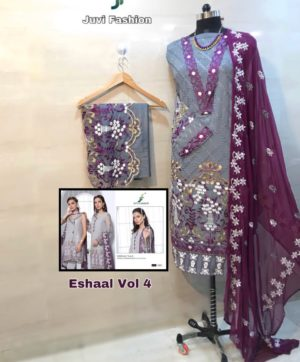 JUVI FASHION PAKISTANI SUITS WITH PRICE ONLINE