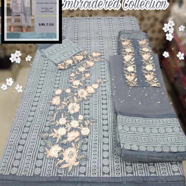 LIME LIGHT EMBROIDERED COLLECTION PAKISTANI SUITS WHOLESALE