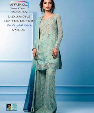M3 RIMSHA VOL 3 PAKISTANI SUITS WHOLESALER