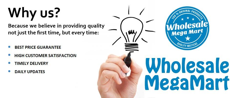 Why Wholesale Mega Mart?