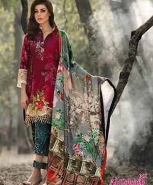 AL ZOHAIB TEXTILE LAWN COLLECTION WHOLESALE