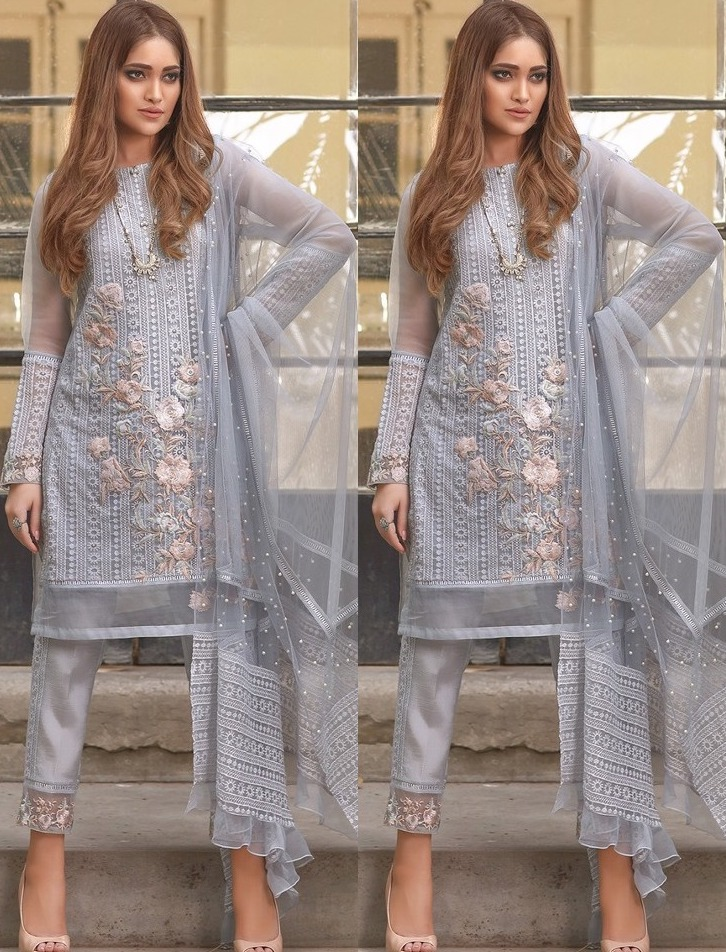 LIME LIGHT EMBROIDERED COLLECTION PAKISTANI SUITS WHOLESALE2