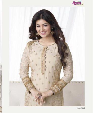 AVON HEAVY EMBROIDERY PARTY WEAR SALWAR SUITS IN SINGLE (1)
