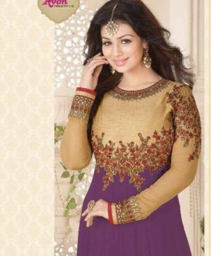 AVON HEAVY EMBROIDERY PARTY WEAR SALWAR SUITS IN SINGLE (3)