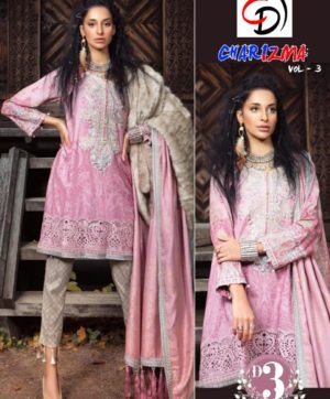 CHARIZMA VOL 3 PAKISATNISALWAR SUITS