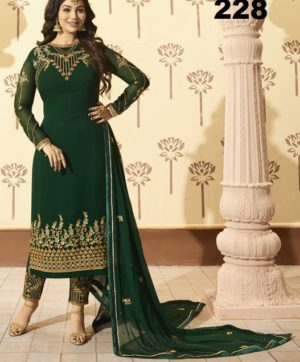 GLOSSY MINAZ VOL 2 DESIGN NO 228 AT CHEAPEST PRICE