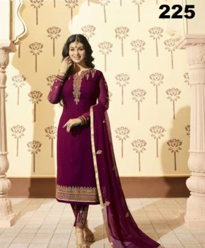 GLOSSY MINAZ VOL 2 PARTY WEAR SALWAR SUITS (4)
