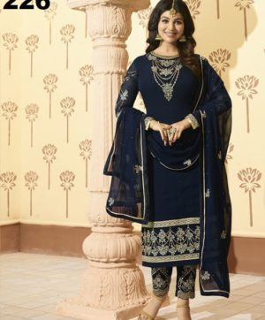 GLOSSY MINAZ VOL 2 PARTY WEAR SALWAR SUITS (5)