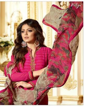 LT NITYA SALWAR SUITS WITH EMBROIDERY HIT DESIGN IN SINGLE