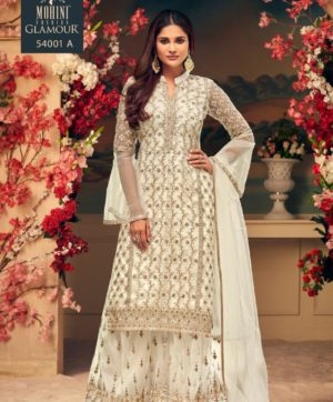 MOHINI GLAMOURS 54001 SERIES PARTY WEAR IN SINGLE