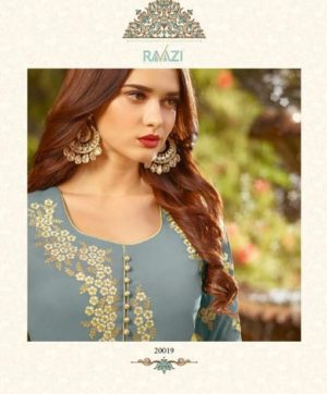 RAMA RAAZI DESIGN NO. 20019 IN SINGLE AT WHOLESALE PRICE