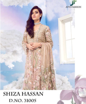 JUVI SHIZA HASAN WHOLESALE HIT DESIGN IN SINGLE