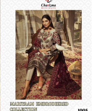 CHARIZMA DESIGNER EMBROIDERY SALWAR SUITS