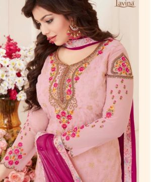LAVINA VOL 50 EMBROIDERY SALWAR SUITS WITH DIGITAL PRINT WHOLESALE
