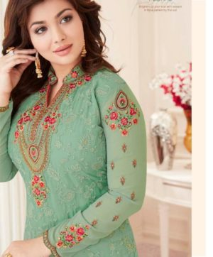 LAVINA VOL 50 EMBROIDERY SALWAR SUITS WHOLESALE