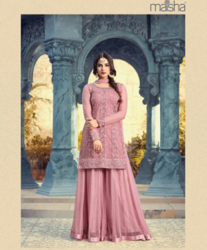 MAISHA PEARL WEDDIND WEAR SALWAR SUITS IN SINGLE
