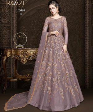 RAMA RAAZI WEDDING WEAR GOWN STYLE IN WHOLESALE IN SINGLE