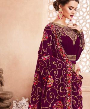 AASHIRWAD KASHMIRI LONG ANARKALI STYLE WHOLESALE