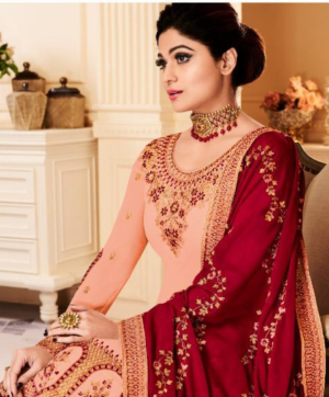 AASHIRWAD SHAMITA SARARA SUITS WHOLESALE IN SINGLE