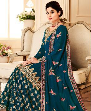 AASHIRWAD SHAMITA SALWAR SUITS WHOLESALE