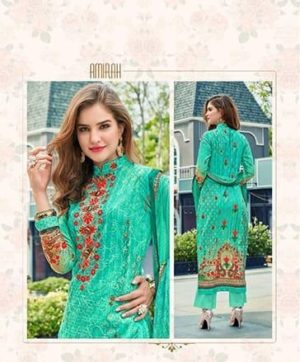 AMIRAH VOL 5 CAMRICE COTTON SALWAR SUITS WHOLESALE