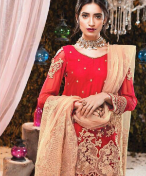 DEEPSY GEORGETTE PAKISTANI SALWAR SUITS WHOLESALE IN SINGLE