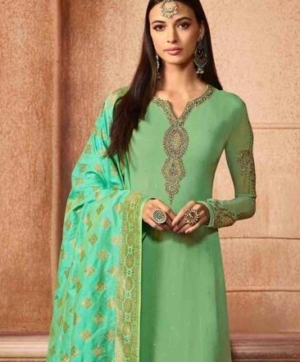 GLOSSY AARYVI SALWAR SUITS WHOLESALE IN SINGLE