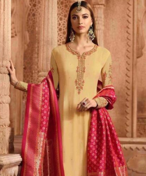 GLOSSY AARYAVI SALWAR SUITS WHOLESALE IN SINGLE