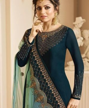 LT NITYA VOL 132 GEORGETTE SALWAR SUITS WHOLESALE SUPPLIER