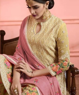 LT NITYA GARARA SALWAR SUITS WHOLESALE IN SINGLE