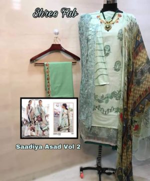 SADIA ASAD FESTIVE COLLECTION VOL 2 PAKISTANI SALWAR SUITS WHOLESALE