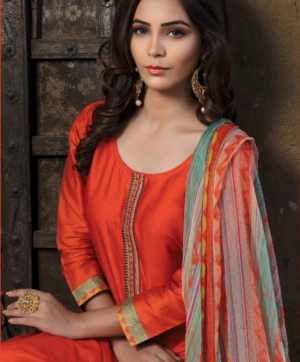 RVEE GOLD SALWAR SUITS WHOLESALE AT BEST RATE