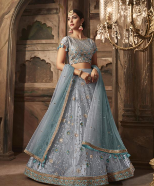 MASKEEN WEDDING WEA R HEAVY LEHNGA SINGLE WHOLESALE