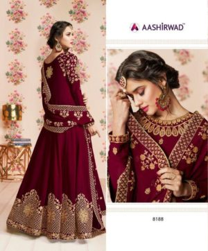 AASHIRWAD LONG ANARKALI STYLE IN SINGLE (4)