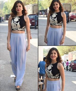 ANUSHKA CROP TOP WITH PALAZZO WHOLESALE