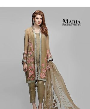 MARIA B EMBROIDERED COLLECTION  WHOLESALE IN SINGLE