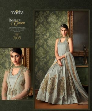 MASKEEN HEAVY EMBROIDERY SALWAR SUITS