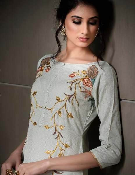 c8ccf31b07 RVEE GOLD EVEN FLOW EMBROIDERY SALWAR SUITS WHOLESALE