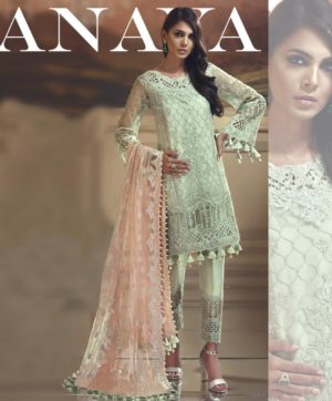 ANAYA EMBROIDERED STRAIGHTS SUITS FOR EID