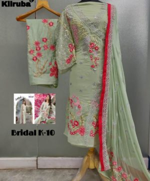 KILRUBA BRIDEL K-10 WHOLESALE OF SINGLE