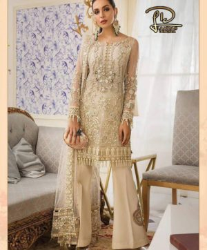 LAAIBAH GULAL NET PAKISTANI SUITS SUPPLIER