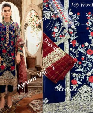 HOOR TEX AYNOOR VOL 1 WHOLESALE SUITS SUPPLIER