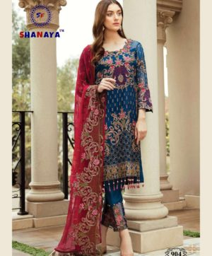 SHANAYA ROSE AFROZEH 904 SALWAR SUITS WHOLESALER