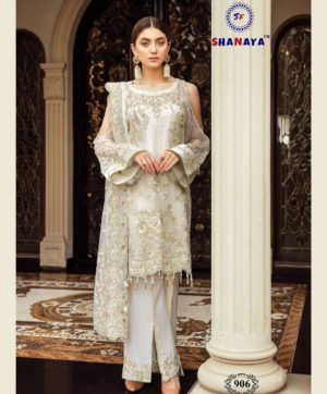 SHANAYA ROSE AFROZEH IN SINGLE DESIGN NO 906 SALWAR SUITS AT BEST PRICE