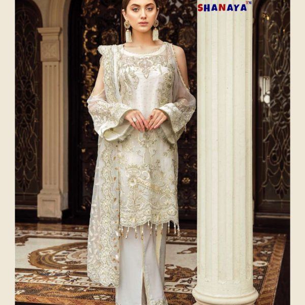 SHANAYA ROSE AFROZEH IN SINGLE DESIGN NO 902 SALWAR SUITS COLLECTION