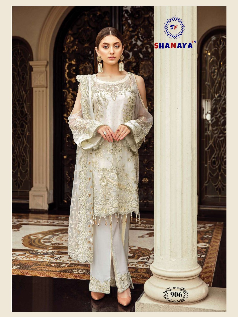 SHANAYA ROSE AFROZEH IN SINGLE DESIGN NO 902 SALWAR SUITS COLLECTION (5)
