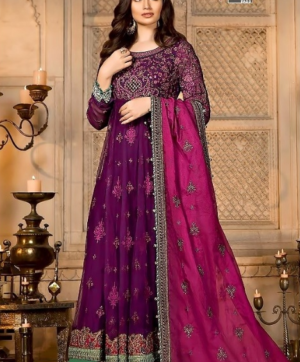 SHREE FABS MBROIDERED MARIYA  B VOL 5 IN SINGLE DESIGN NO 1141