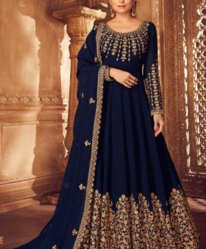 AASHIRWAD CREATION ANARKALI  SINGLE AT WHOLESALE RATE