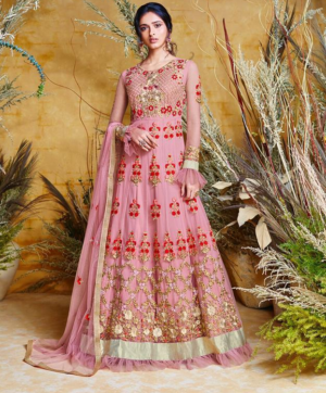 SAJAWAT CREATION BRIDE VOL 4 IN SINGLE DESIGN NO 38031 SUITS COLLECTION