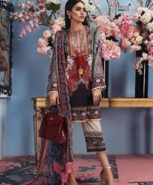SHREE FABS SANA SAFINA MUZLIN COLLECTION VOL 4 IN SINGLE